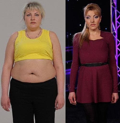 Ukrainians lose weight. Alla Petrova