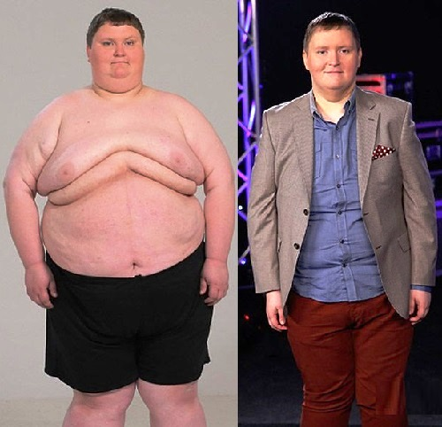 Ukrainians lose weight. Andrew