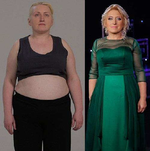Ukrainians lose weight. Elena Lyashenko