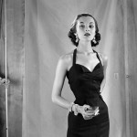 American actress and model of 1950s Vikki Dougan