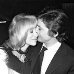 Mireille Darс and Alain Delon