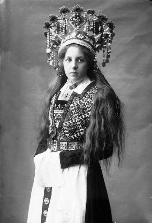 Norwegian bridal crowns