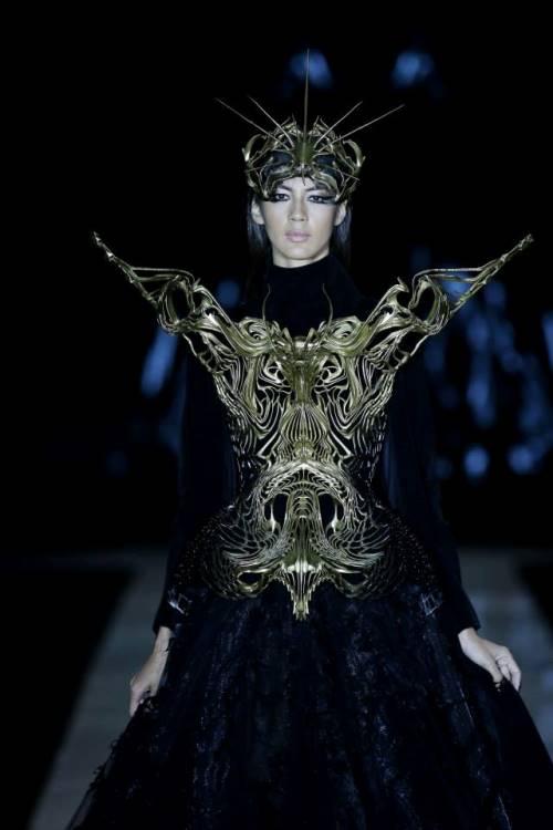 Indonesian fashion designer Tex Saverio