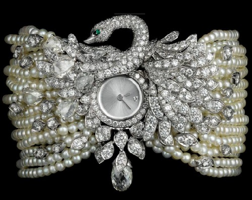 High jewelry watches Heure Envoutée de Cartier collection