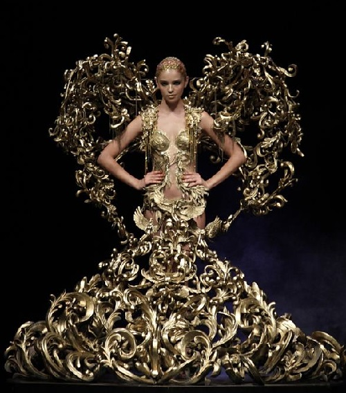 Indonesian fashion designer Tex Saverio