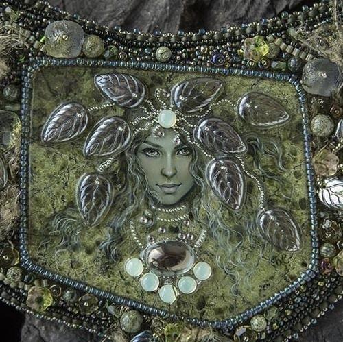 Miniature painting artist Svetlana Belovodova