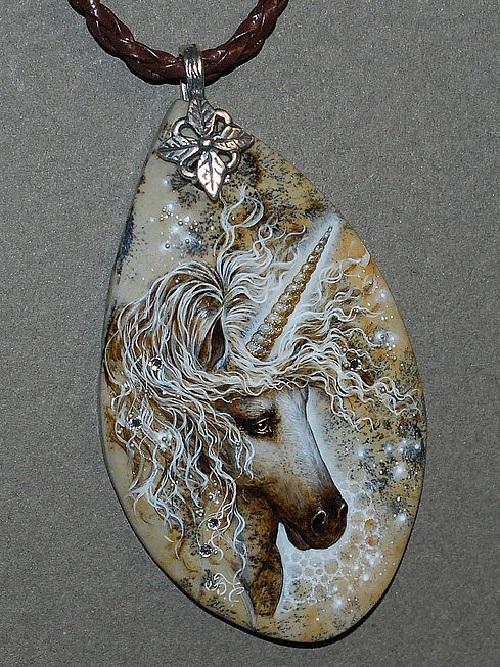 Miniature painting by Svetlana Belovodova