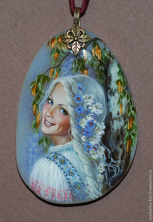 Miniature painting by Svetlana Belovodova