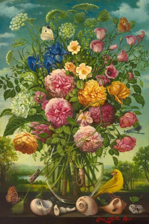 Renaissance painting Yana Movchan