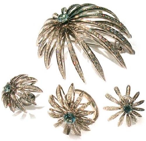 Jewelry set 'Polar Star'. 2003