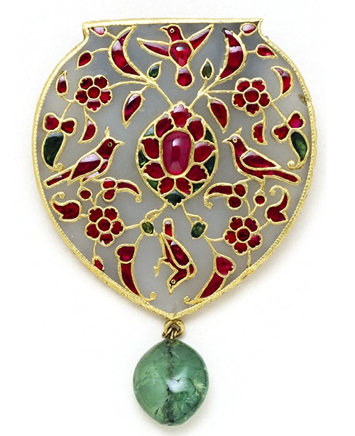 Unknown artist, circa 1610-1620. Kremlin jewelry exhibition 'India - Jewels that conquered the world'