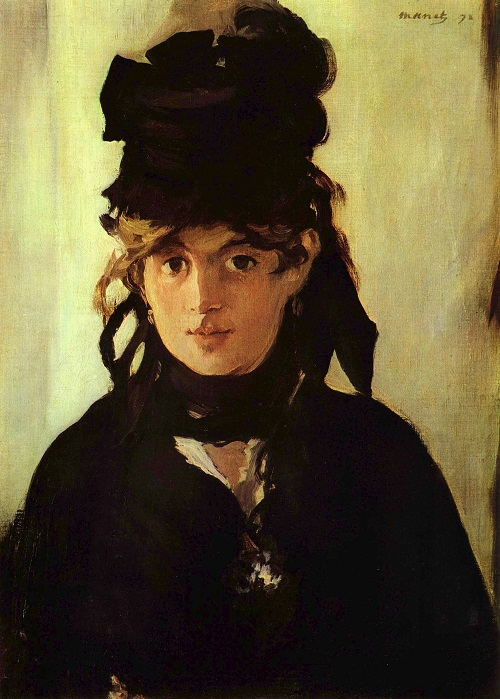 Edouard Manet, Berthe Morisot with a Bouquet of Violets, 1872