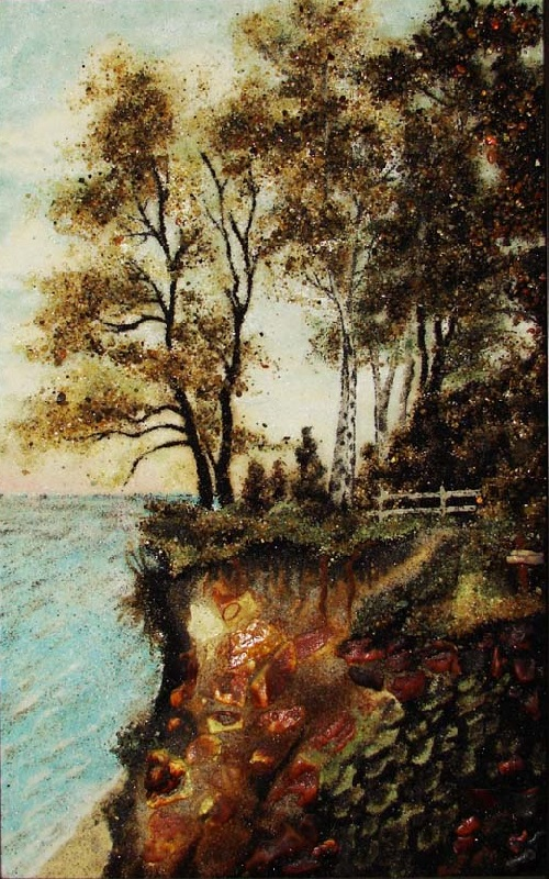 Kaliningrad amber paintings