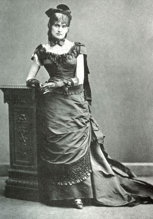 French impressionist painter Berthe Morisot (January 14, 1841 – March 2, 1895)