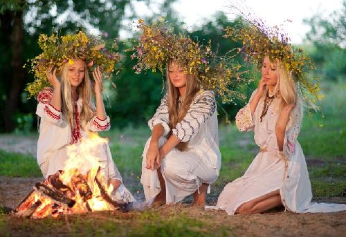 Three Slavic sisters - Belarus, Ukraine and Russia