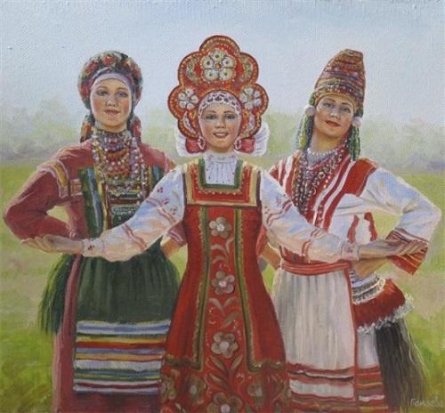 Three Slavic sisters