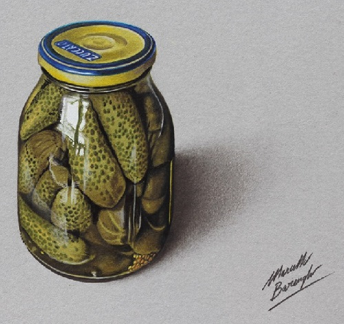 Hyperrealistic speed drawing by Marcello Barenghi