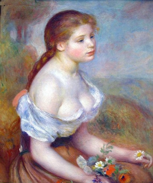 Aline Charigot - Ideal of beauty for Renoir
