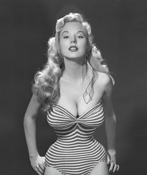 Beauty queen of 1950s Betty Brosmer