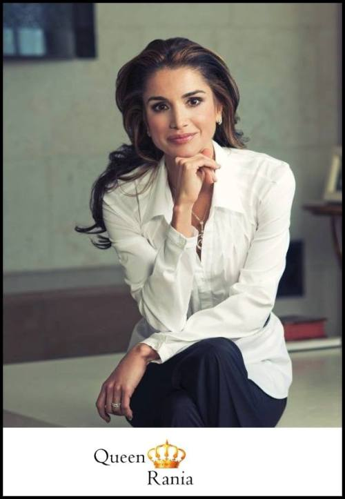 Most beautiful queen of the planet – Queen Rania