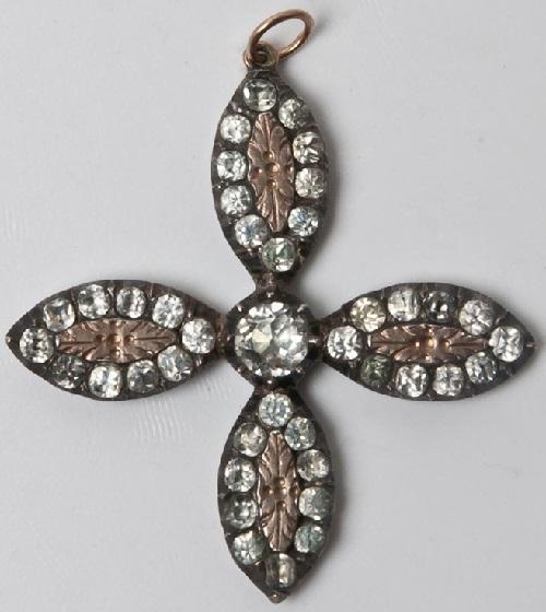 Necklace Yvetot cross