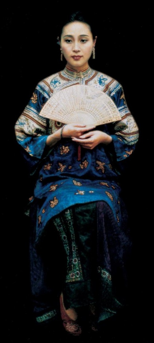 Realistic painting by Chen Yifei