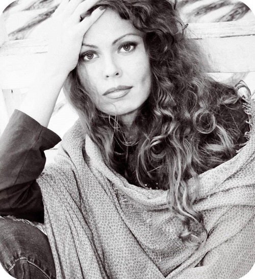 Beautiful photographer Maria Svyatskaya