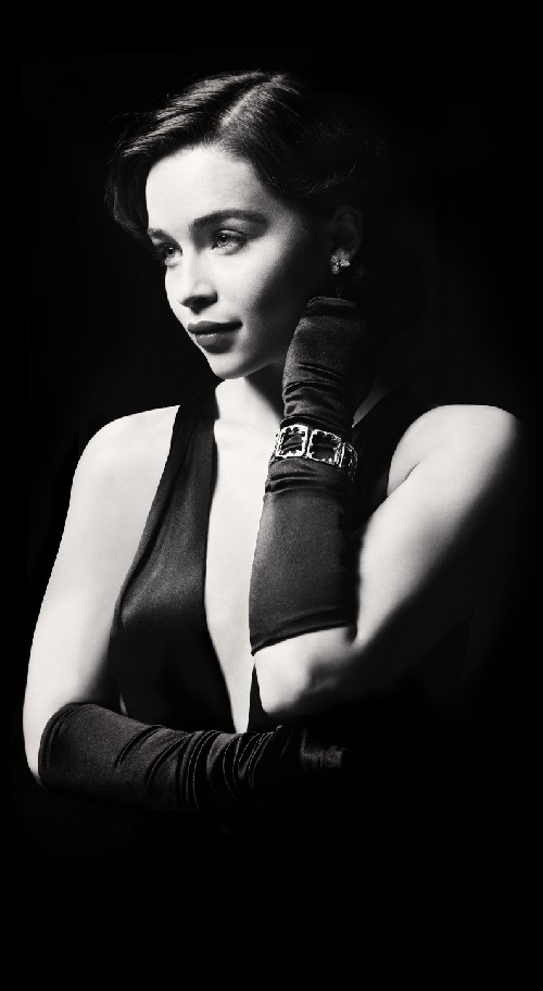 English actress Emilia Clarke