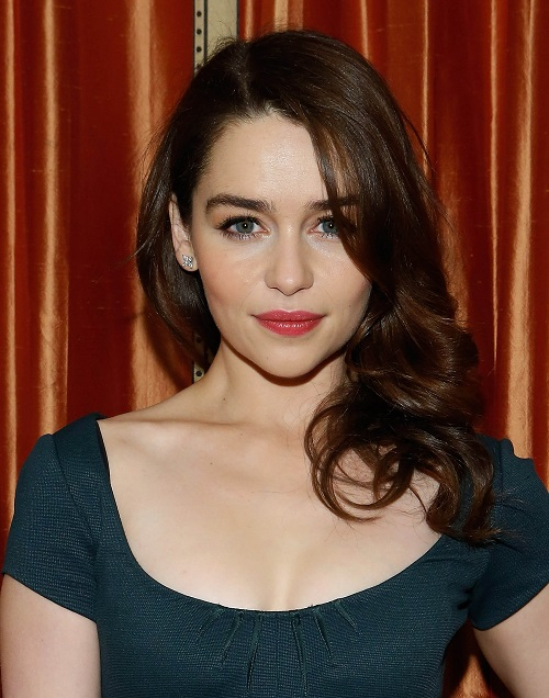 Beautiful English actress Emilia Clarke