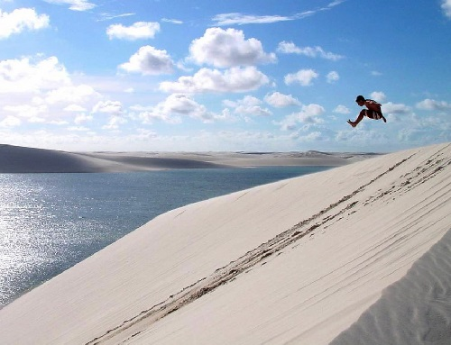 Lencois Maranhenses fresh water desert