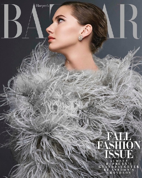 Emma Ferrer 2014 September Harper's Bazaar US, photographed by Michael Avedon