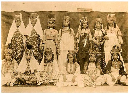 Ouled Nail exotic dancers