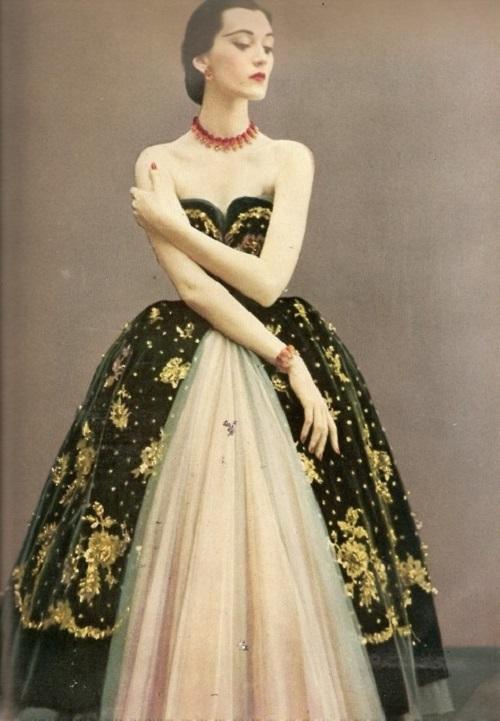 Dior dress 50s