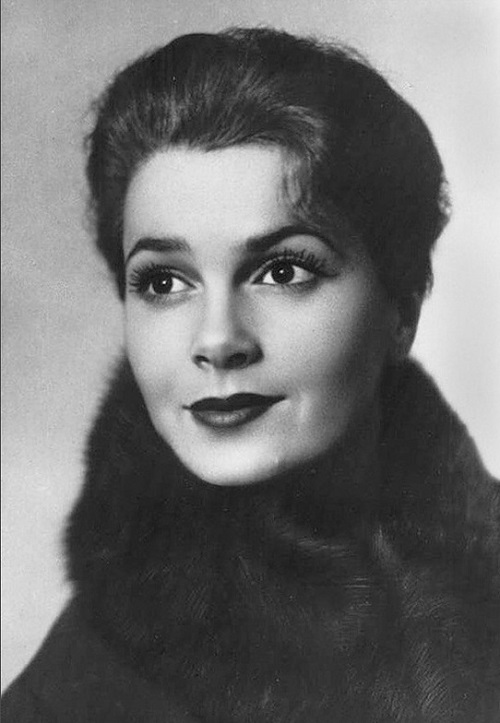 Elina Avraamovna Bystritskaya. Beautiful Jewish women