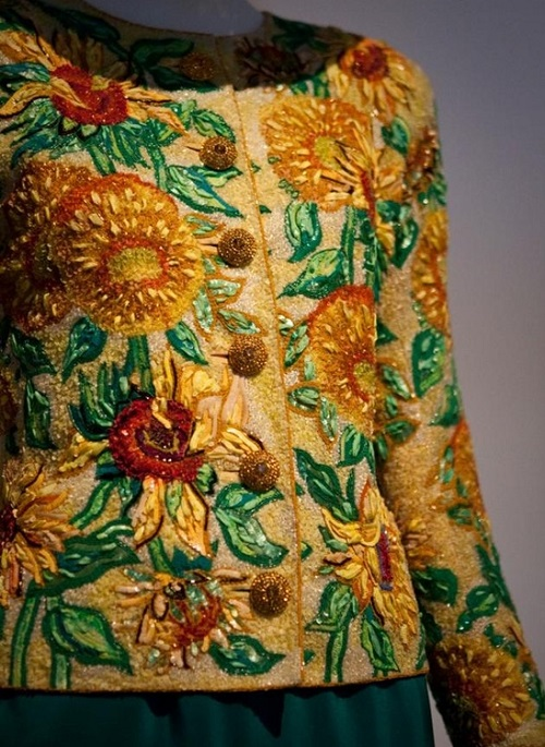 Embroidery wizard Francois Lesage
