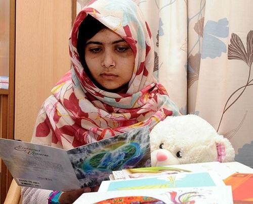 Youngest Nobel Prize winner Malala Yousafzai