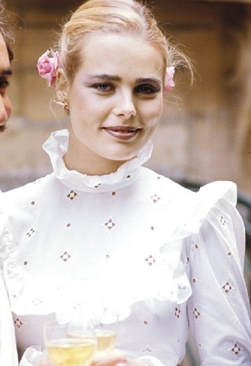 American supermodel Margaux Hemingway