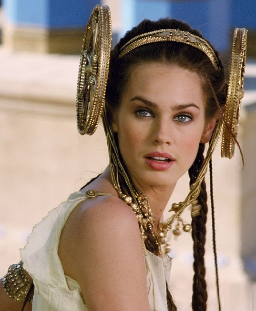 Italian actress Vanessa Hessler as Greek princess Irina in the 2008 'Asterix at the Olympic Games'