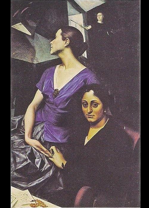 Alexander Yakovlev. Silver Age last muse Salomea Andronikova