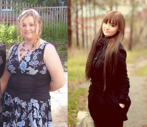 Elliada Skovlina before and after