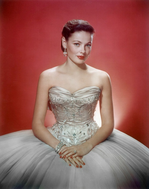 Hollywood princess Gene Tierney