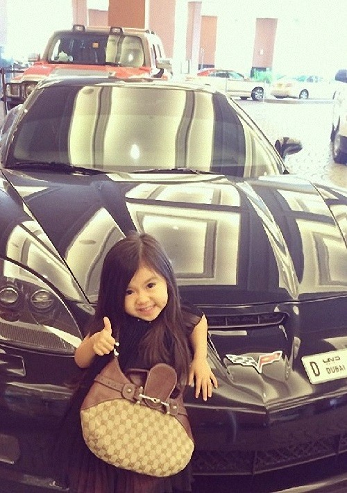 Internet star 5-year-old girl Breanna Youn