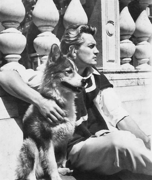French actor Jean Marais and Muluc