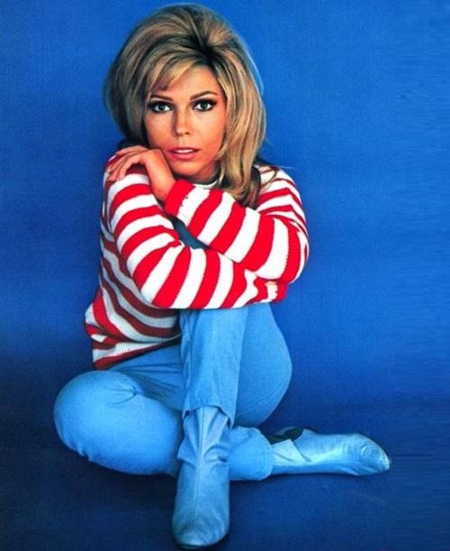 1960s pop star Nancy Sinatra