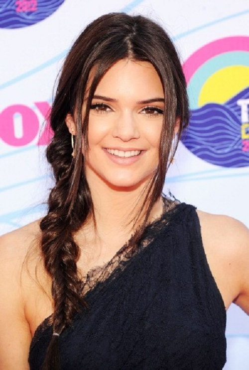 Most followed model Kendall Jenner