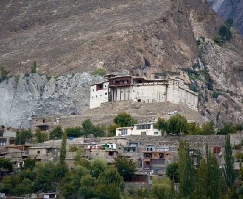 Phenomenon of Hunza tribe. Hunza Valley of Pakistan