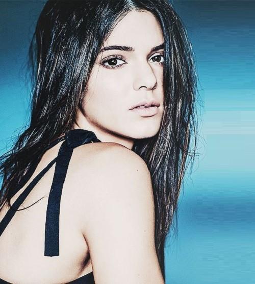 Most followed model Kendall Jenner