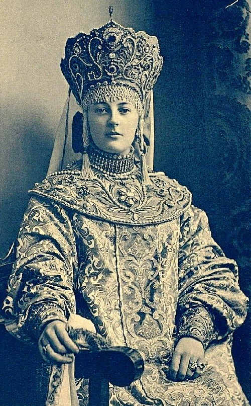 Princess Nadezhda Dmitrievna Vonlyarlyarskaya, Romanov Anniversary Ball (1903)