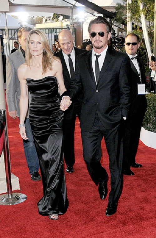 Robin Wright Penn and Sean Penn at the 15th Annual Screen Actors Guild Awards
