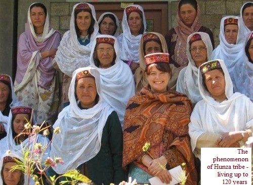 The phenomenon of Hunza tribe is living up to 120 years